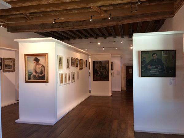Musée Ernest Cognacq, salle exposition Louis Suire
